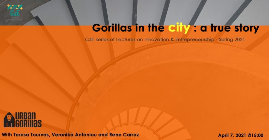 [07 Apr] Gorillas in the city: a true story