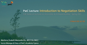 [10 Mar] PwC Lecture: 'Introduction to Negotiation Skills'