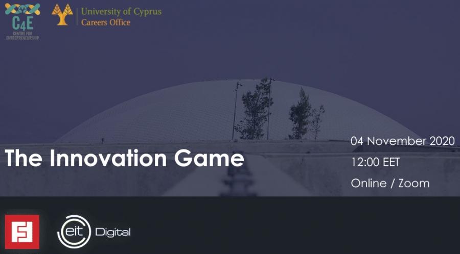 [04 Nov] 'The Innovation Game'