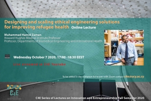 Designing and scaling ethical engineering solutions for improving refugee health