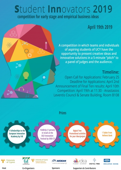 [19 Apr] Student Innovators 2019 Competition (SINN2019)