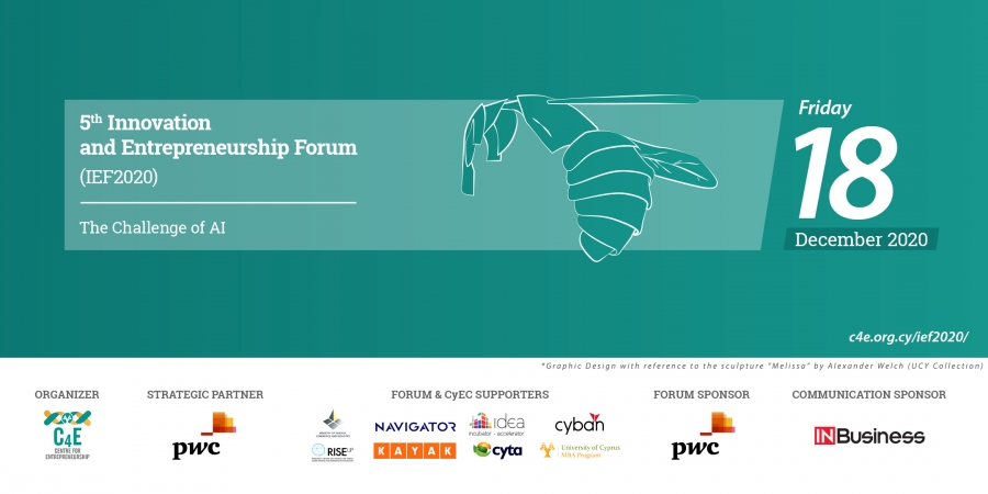 "[18 Dec] 5th Innovation & Entrepreneurship Forum: ""The Challenge of AI"" – IEF2020"