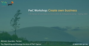 PwC Workshop: 'Create own business'