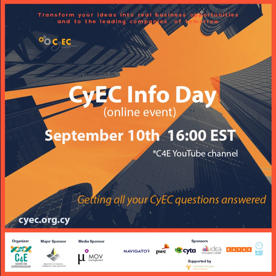 [10 Sep] CyEC 2020 INFO DAY (ONLINE)