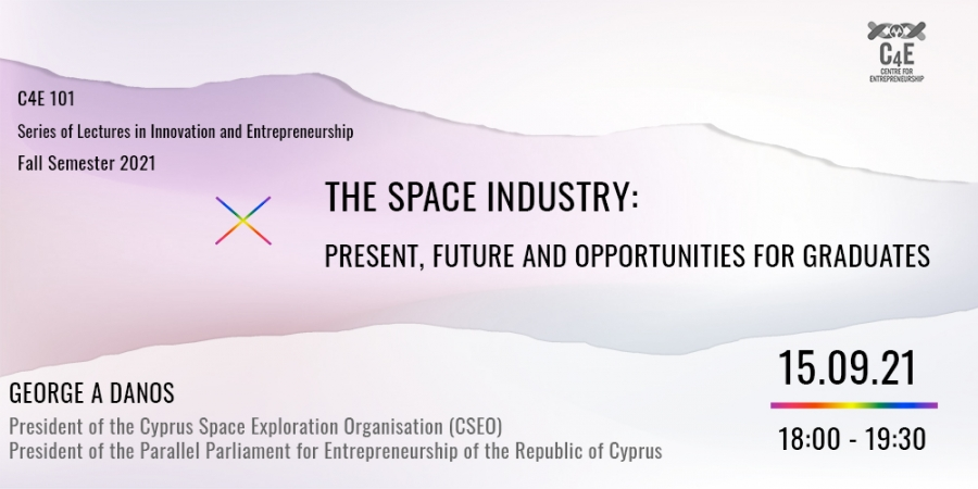 [15 Sep] The Space Industry: present, future and opportunities for graduates
